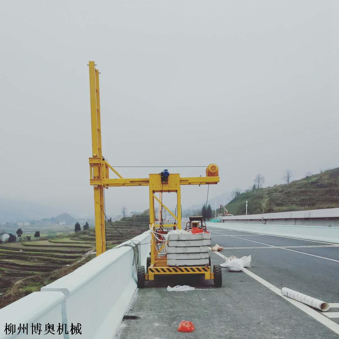 博奥桥梁排水管安装车功能齐全