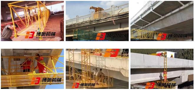 博奥定制型桥梁检修设备发挥不可替代的作用